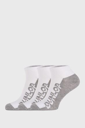 3 PACK bele nogavice Dunlop