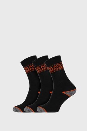 3 PACK delovnih nogavic Black in Decker