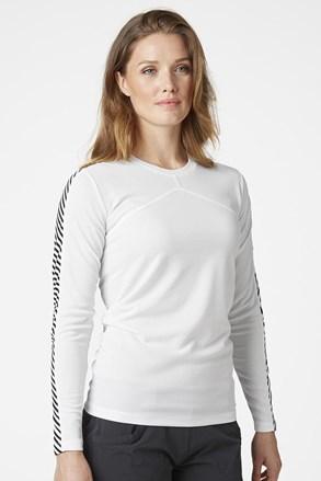 Ženska bela majica z dolgimi rokavi Helly Hansen