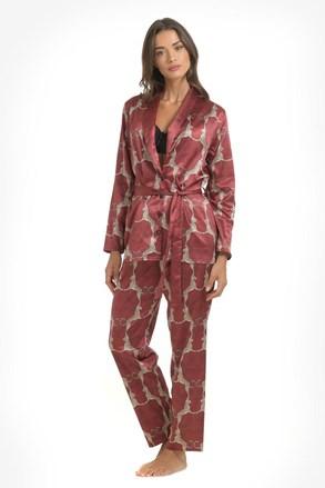 Pižama iz satena Leopard