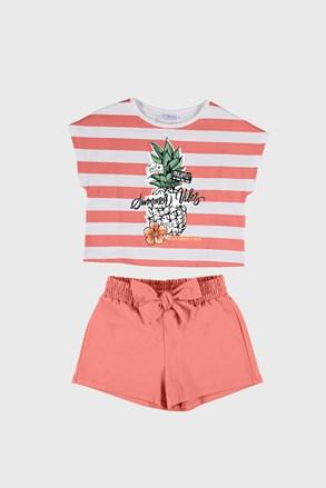 Komplet dekliška majica in kratke hlače Mayoral Summer Vibes