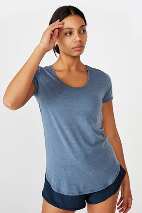 Modra športna majica Gym