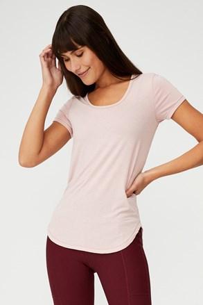 Roza športna majica Gym