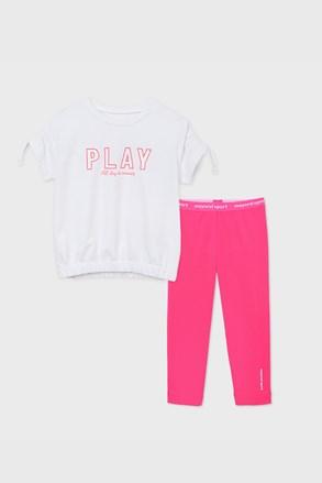 Športen dekliški komplet Play