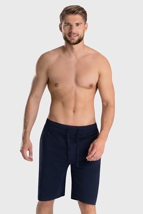 Temnomodre kratke pižama hlače Tom Tailor