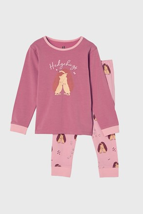 Dekliška pižama Hedgehog Hugs
