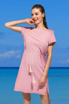 Ženska obleka za na plažo Pandora, rdeča