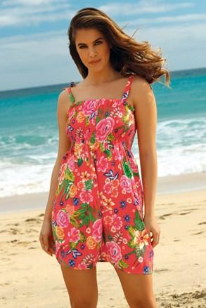 Obleka za plažo Leafy Coral