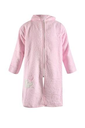 Otroški kopalni plašč Blue Kids - roza slon