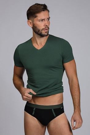 Zelen moški KOMPLET majica in spodnjice Raw man