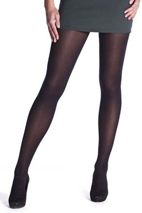 Črne ženske hlačne nogavice Bellinda OPAQUE 60 DEN