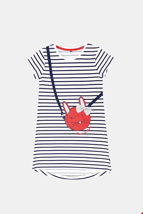 Dekliška spalna srajca Buny s črtami