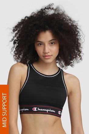 Športni modrček Champion Black