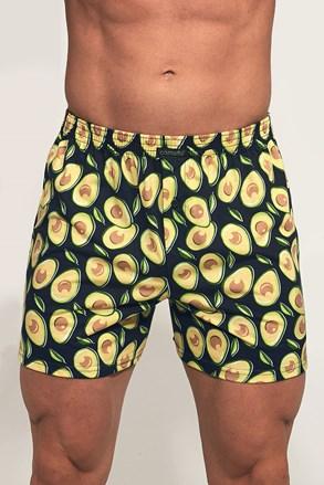 Moške široke boksarice Classic Avocado