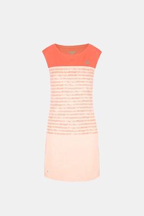 Ženska oranžna obleka LOAP Abrisa
