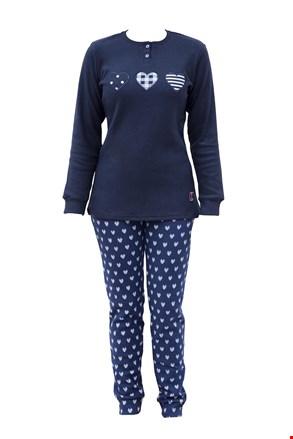 Ženska topla pižama Belen