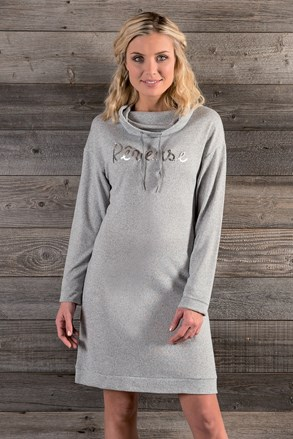 Ženska pletena obleka Tulle