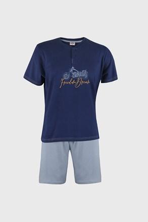Modra pižama Freedom dream