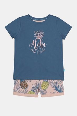 Dekliška pižama Aloha Pineapple