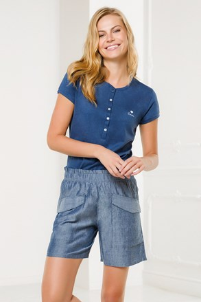 Ženski domači komplet Pantalone, modri