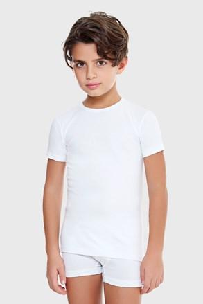 Deška majica E. Coveri, osnovna bela
