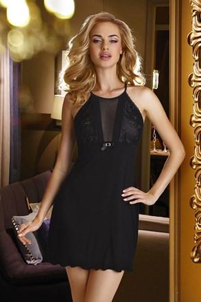 Elegantna spalna srajčka Emi Black