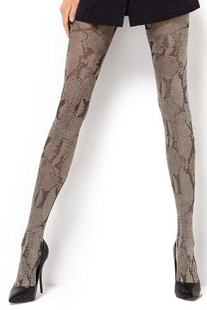 Vzorčaste hlačne nogavice Estera 60 DEN