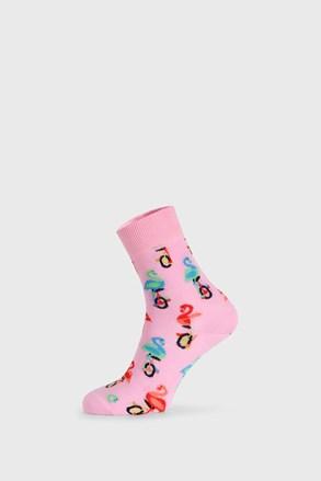 Nogavice Happy Socks Flamingo Half Crew