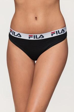 Črne ženske hlačke FILA Underwear String