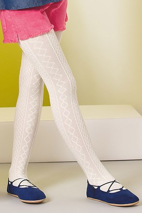 Dekliške bombažne hlačne nogavice Fifi