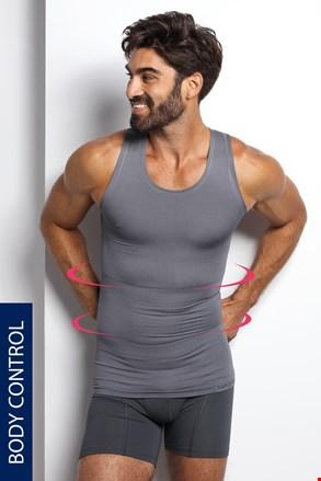 Moška spodnja majica SilverMax, za oblikovanje postave, brezšivna