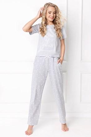 Ženska pižama Hearty, dolga