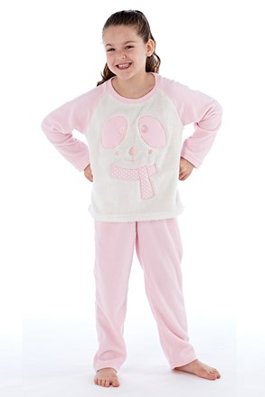 Topla dekliška pižama Winter