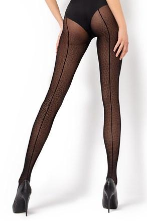 Vzorčaste hlačne nogavice Lara1 30 DEN