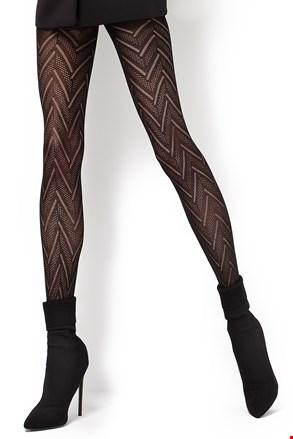 Vzorčaste hlačne nogavice Lola2 60 DEN