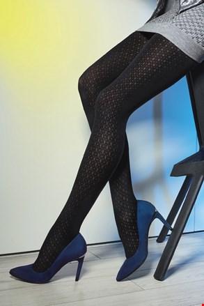 Vzorčaste hlačne nogavice Loretta 118 50 DEN