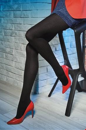 Vzorčaste hlačne nogavice Loretta 119 50 DEN