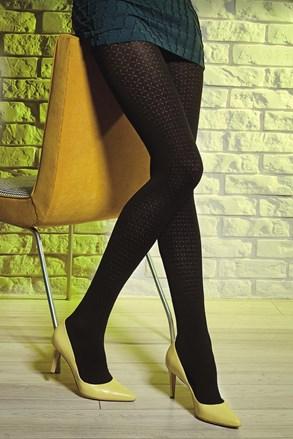Vzorčaste hlačne nogavice Loretta 120 50 DEN