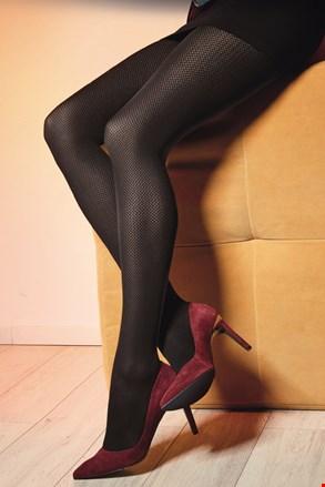 Vzorčaste hlačne nogavice Lorien 09 40 DEN