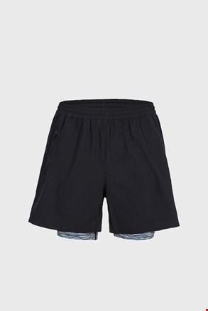 Črne športne kratke hlače Patterson