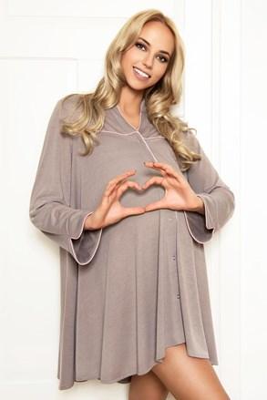 Spalna srajčka za nosečnice in doječe mamice Anna