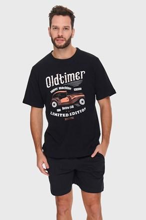 Črna pižama Oldtimer