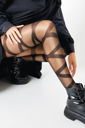 Ženske hlačne nogavice Ribbon 20 DEN