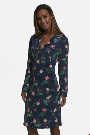 Ženska bombažna spalna srajčka Roses