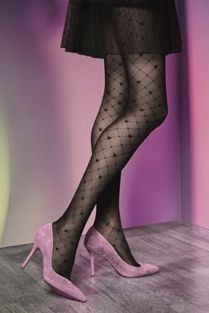 Vzorčaste hlačne nogavice Royale 01 40 DEN