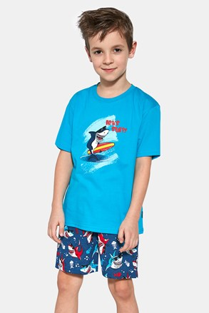 Deška pižama Shark surf