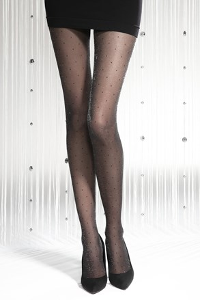 Hlačne nogavice Silver Party 06 20 DEN