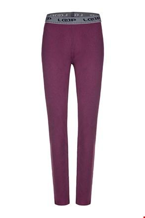 Aktivne hlače LOAP Peddy vijolične