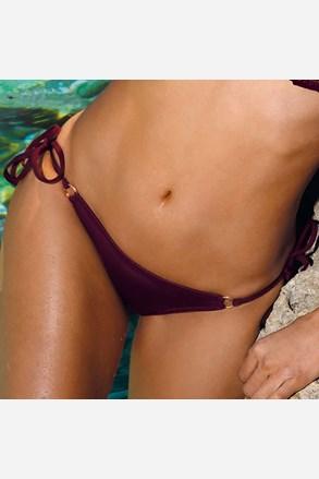 Spodnji del bikinija Verona Bordo
