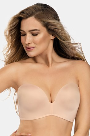 Modrček Wonderbra Ultimate Strapless bardot Double Push-Up, brez kosti